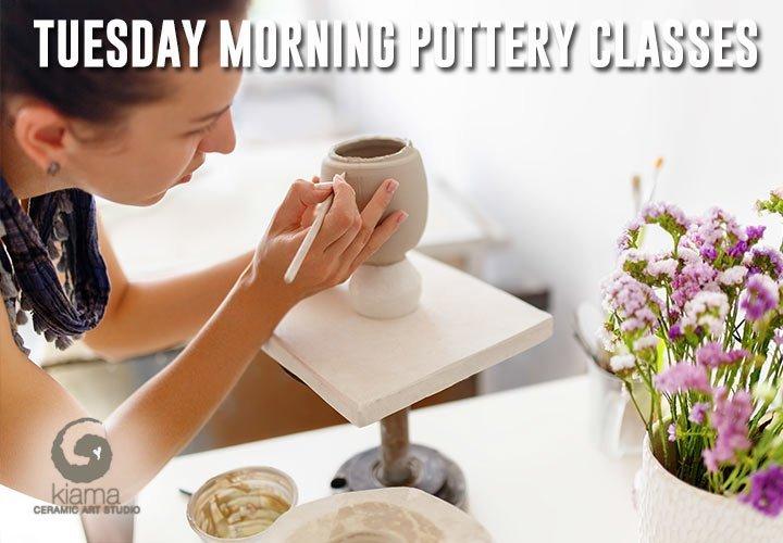 tuesday classes kiama ceramic art studio