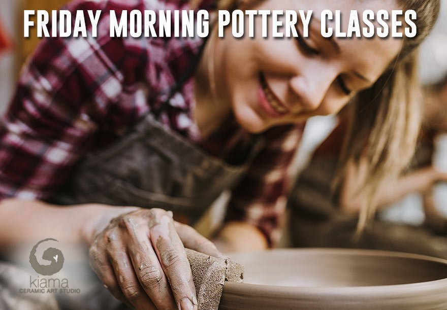 friday classes kiama ceramic art studio